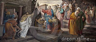 Milan - resurrection of Lazarus
