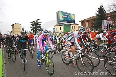 Milan-San Remo Cycle Race, 101st edition Editorial Stock Photo