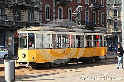 Milan transportation Editorial Photography