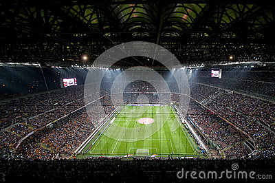 MILAN VS INTER Editorial Image
