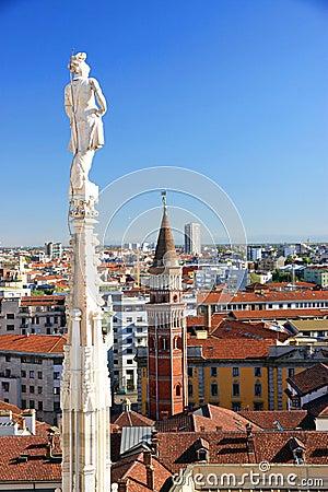 Milan widok