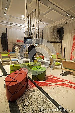 Milano Salone Editorial Stock Photo