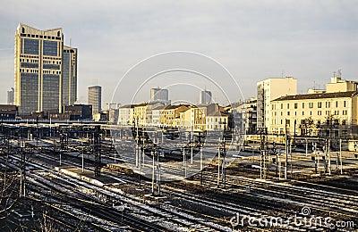 Milano stazione di porta garibaldi fotografie stock - Stazione porta garibaldi mappa ...
