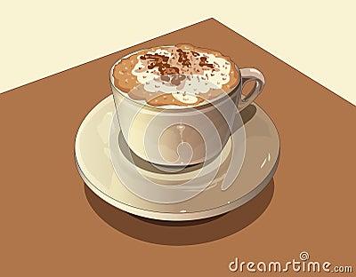 Milch und Kaffee