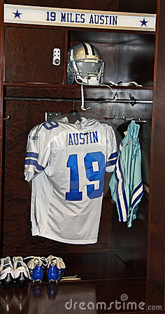 Miles Austin Locker Editorial Photography
