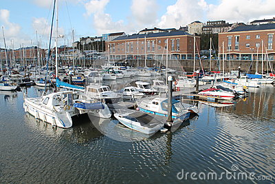 Milford Haven Marina Editorial Stock Image
