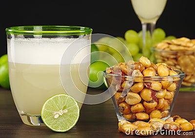 Milho ácido e Roasted de Pisco peruano