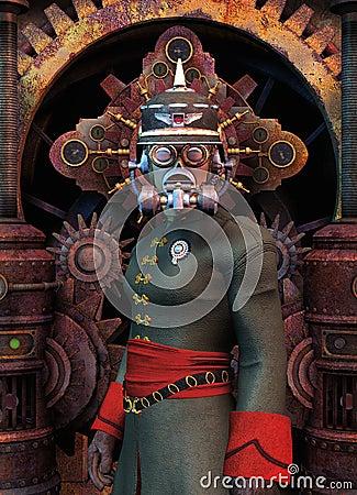 Militaires généraux de Steampunk