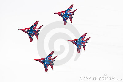 Military airplane su 27 Editorial Photo