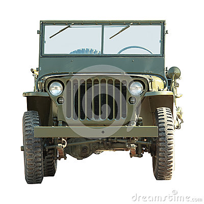 Free Military American Vehicle Royalty Free Stock Images - 25564849