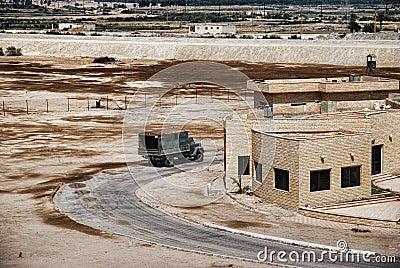 Military area