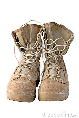 Free Military- Army Boots Stock Photo - 506880