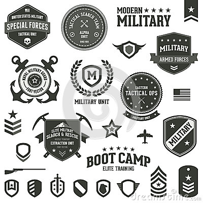 Free Military Badges Stock Photos - 27608083
