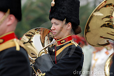Military band Editorial Image