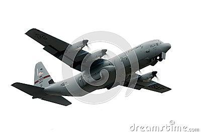 Military C-130 plane Editorial Image