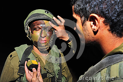Military camouflage Editorial Image