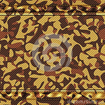 Military camouflage yellow pattern