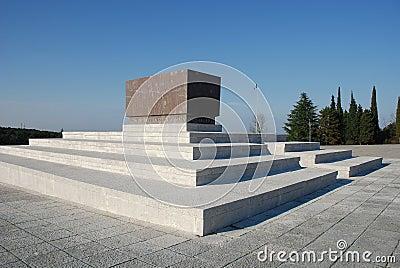 Military Cemetery in Friuli