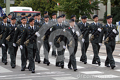 Military Ceremony - the Netherlands Editorial Stock Image