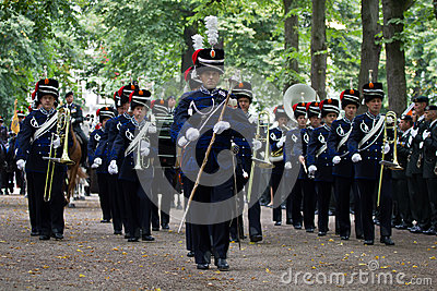 Military Ceremony - the Netherlands Editorial Photography