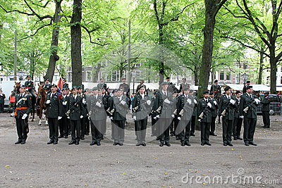 Military Ceremony - the Netherlands Editorial Image