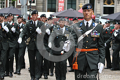 Military Ceremony - the Netherlands Editorial Photo