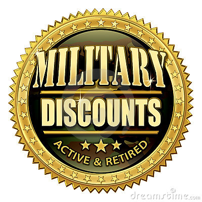 Military Discount Seal