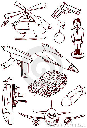 Military doodles