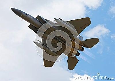 Military F15 jet