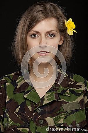 Free Military Female Stock Photo - 20245320