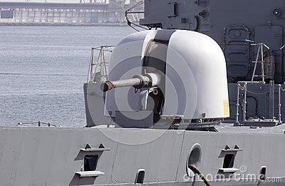Military gun turret