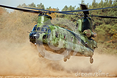 Military helicopter Editorial Photography