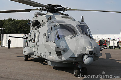 Military helicopter NH Industries NH90 NFH Editorial Photography