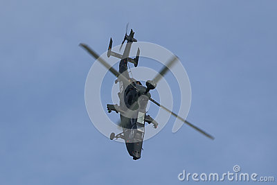 Military helicopter UH Tiger Editorial Stock Photo