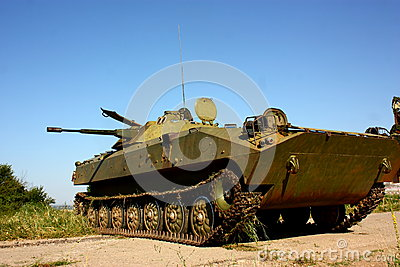 Military infantry fighting vehicle BMP-2