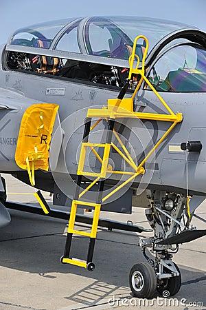Military Jet Cockpit