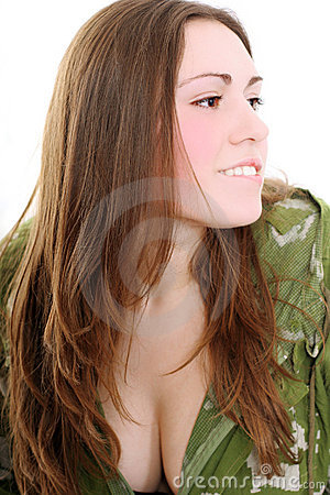 Free Military Lady Stock Images - 5227834