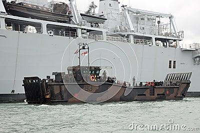 Military landing craft