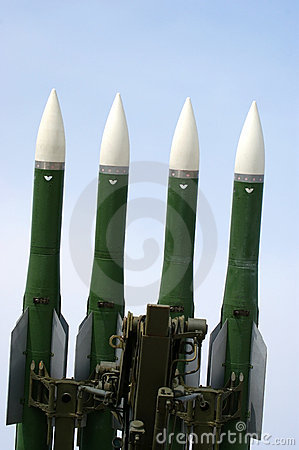 Military launched intermediate-range missiles