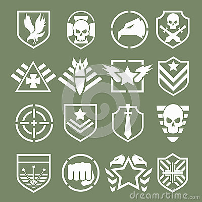 Free Military Logos Of Special Forces Stock Photography - 55758012