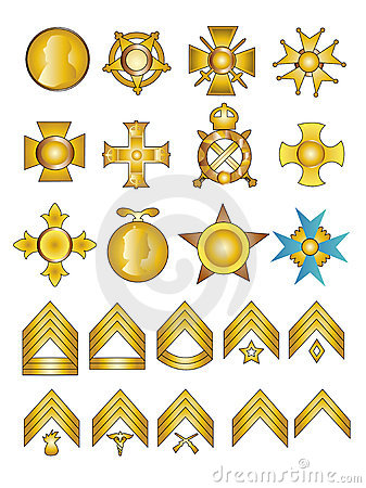 Military Medals and Ranks