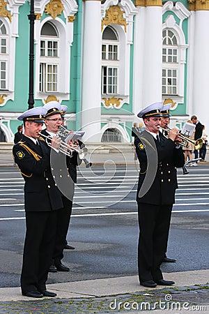 Military Music Editorial Photo