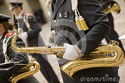 Military musician Editorial Image