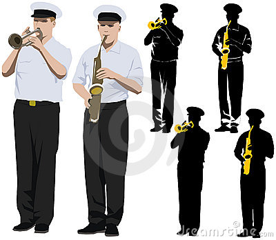 Military musicians