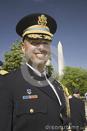 Military officer Editorial Stock Image