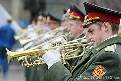 Military orchestra Editorial Image