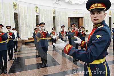 Military orchestra Editorial Stock Photo