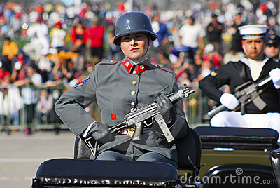 Military parade Editorial Image