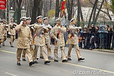 Military parade Editorial Photo