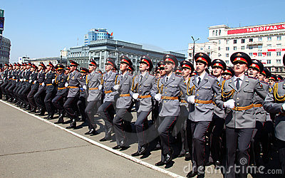 Military parade Editorial Image